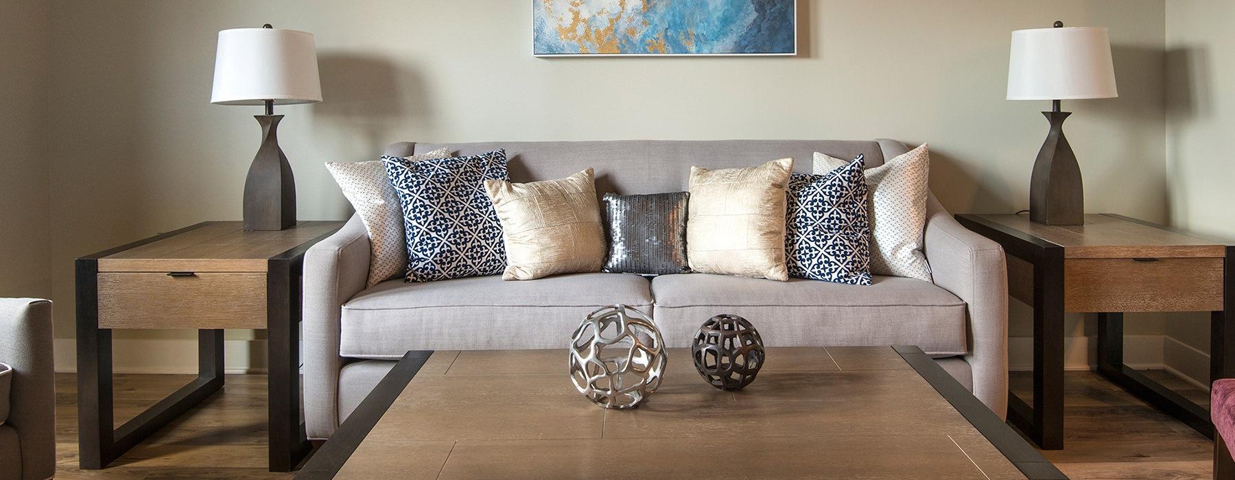 Beaucatcher Flats Living Room