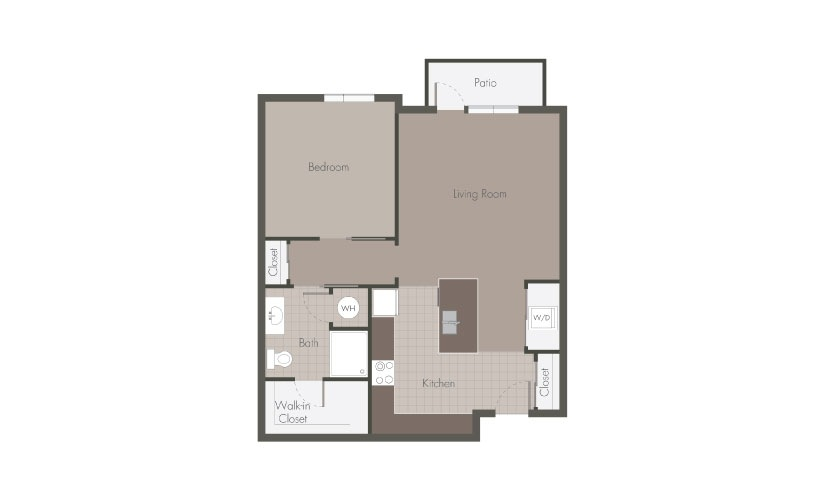 Beaucatcher Flats A1 Floorplan