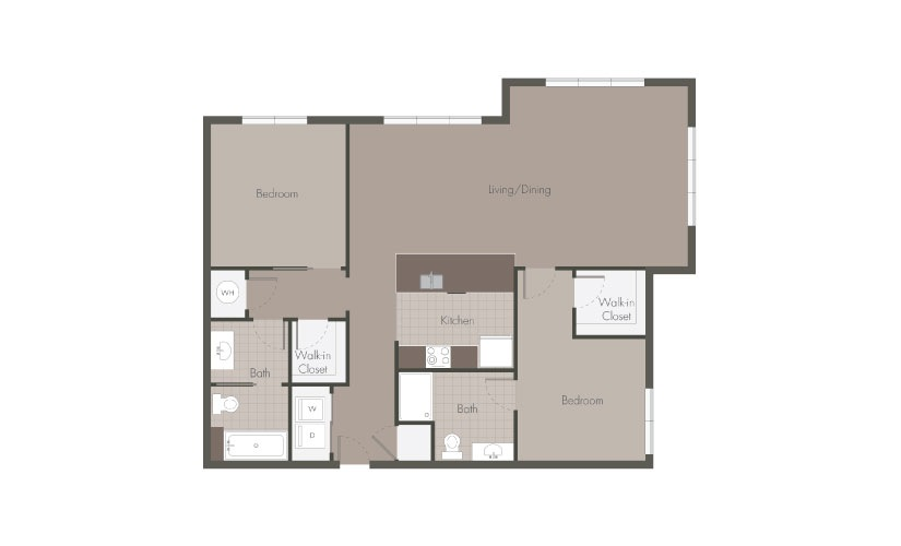 Beaucatcher Flats B5 Floorplan